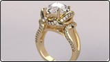 3D CAD CAM CASTING Model Diamond Gold Jewelry Design Retail BServices